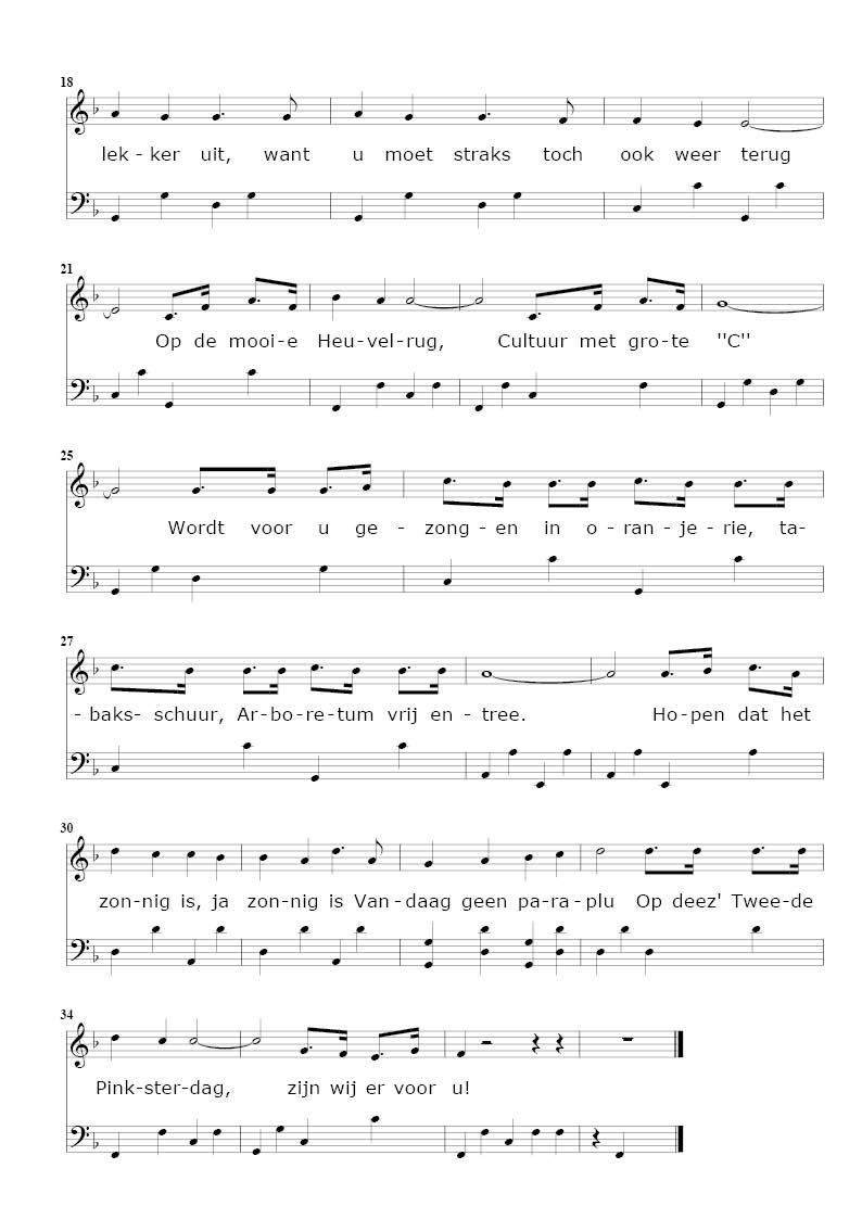 lied op een mooie pinksterdag